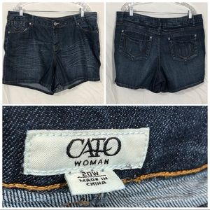 Cato jean shorts size 20W